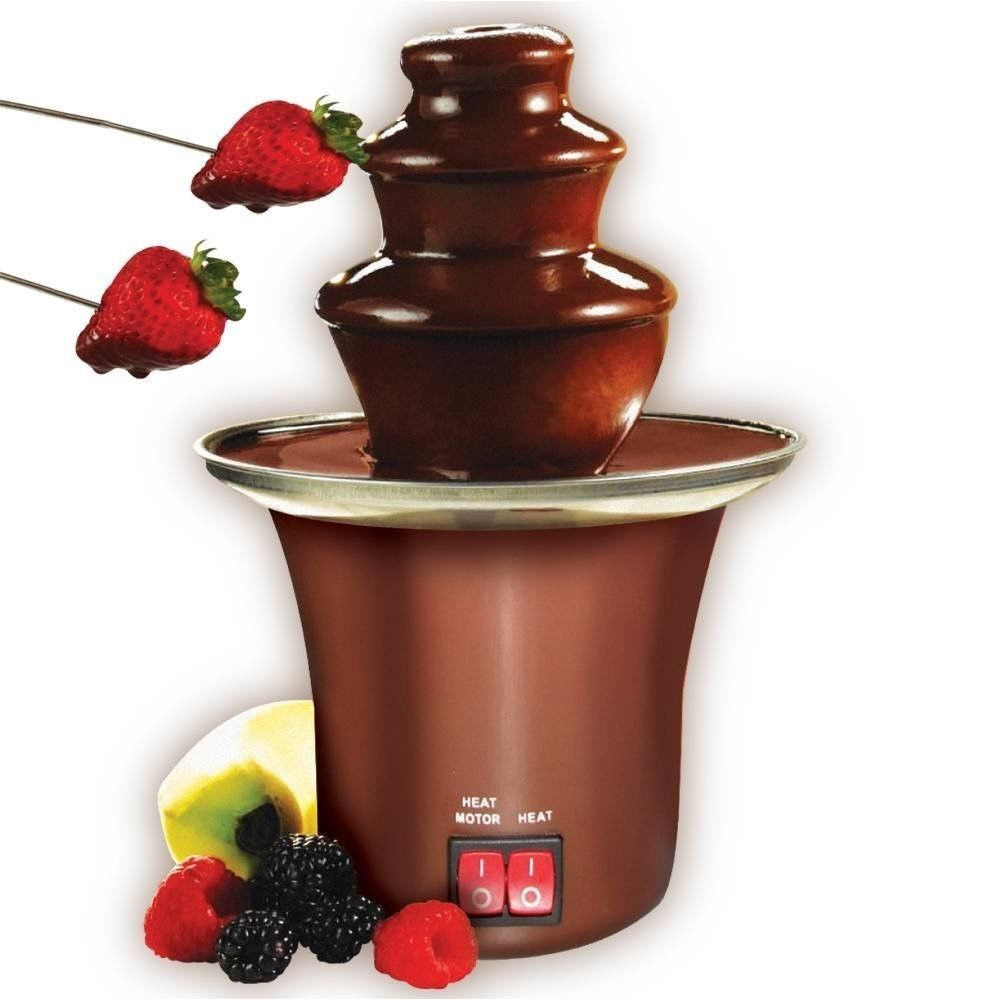 ELECTRIC MINI CHOCOLATE FOUNTAIN FONDUE MACHINE