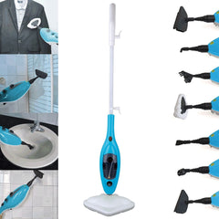 10-IN-1 1300w STEAM MOP CLEANER STEAMER HARDWOOD FLOOR CARPET WASHER WINDOW