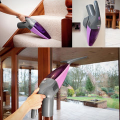 2 in 1 Window Vac Vacuum Hand Held Cordless Cleaner Microfibre Glass Hoover