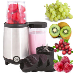 17 PEICE MULTI FOOD FRUIT VEGETABLE JUICER BLENDER CHOPPER SMOOTHIE JUICE MAKER