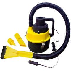 12V Wet Dry Canister Vacuum Cleaner for Car Caravan Vans Boat Inflater for Toys