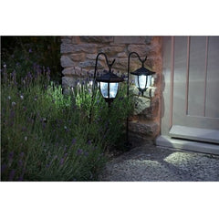 Smart Solar Shepherds Crook Coach Lantern (Pack of 2)