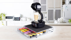 Ryori 36pc Coffee Machine Stand with Drawer