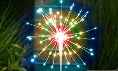 GloBrite LED Colour Starburst Firework Stake Light