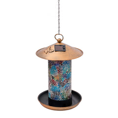 Solar Hanging Bird Feeder