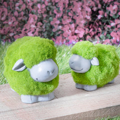 2pcs Resin Lambs Set