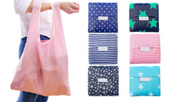 Reusable Emergency Folding Shopping Tote Bag