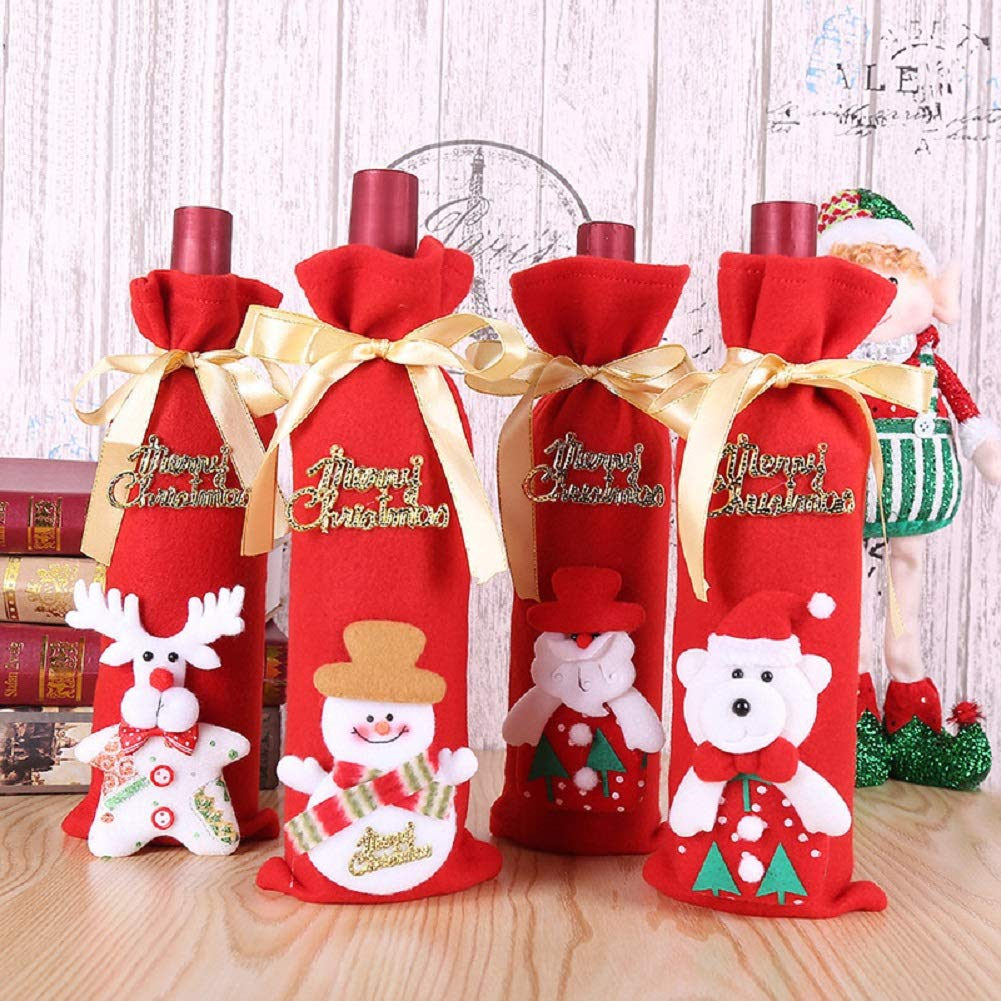 Christmas Wine Bottle Holder