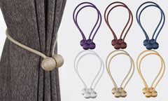 2 Piece Magnetic Curtain Tieback