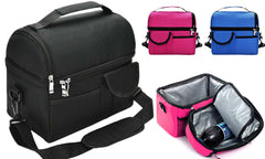 Multi-Compartment Insulated Lunch and Picnic Bag