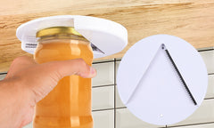 One handed Jar and Bottle Opener