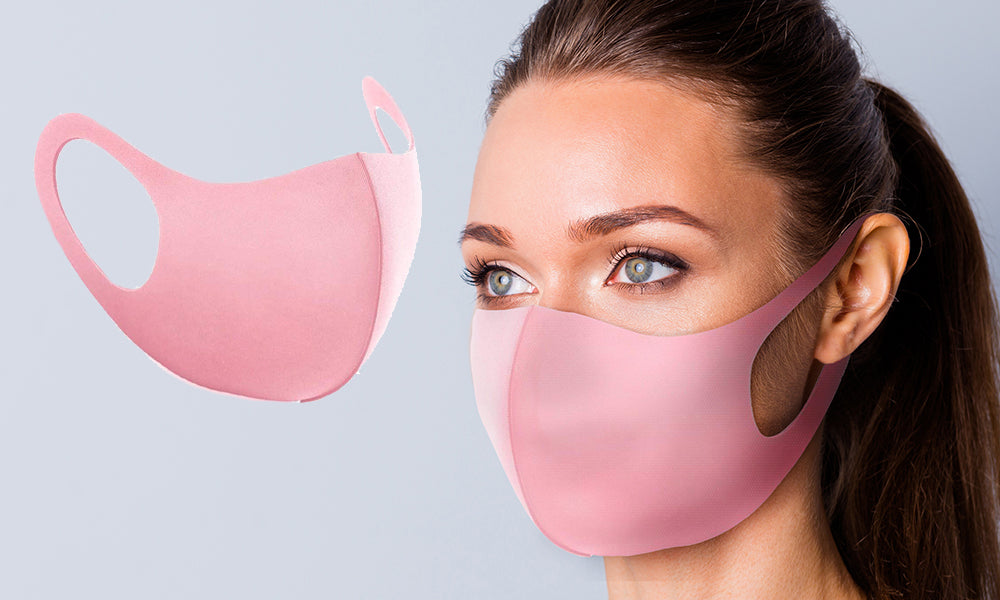 Pink Reusable Face Masks