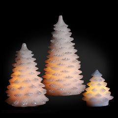 Christmas Tree LED Candles (Pack of 3)