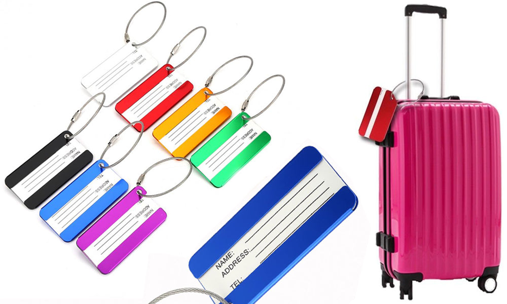 Alloy Luggage Tags