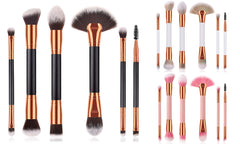 6pc Double Ended Make Up Brush Set