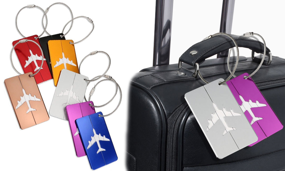 Aluminium Luggage Suitcase Tags