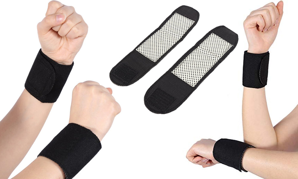 Self-Heating Wrist Support