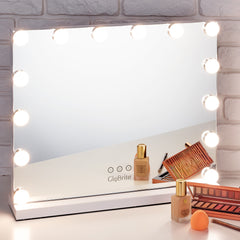 14 LED TABLE TOP MIRROR