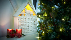 GloBright LED Wooden Advent Calendar