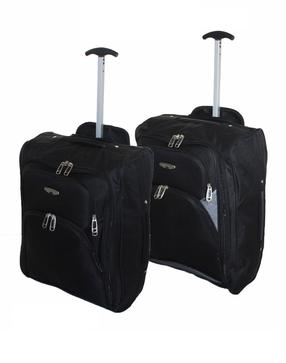 Cabin Approved Lightweight Wheeled Cabin Travel Bag Suitcase