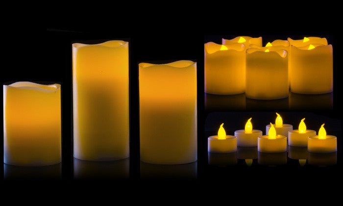 15 pc LED Flameless Candle Pack
