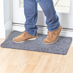 Microfibre Step Mat Rug Super Absorbent Doormat Just Step to Clean