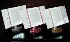 SPECIAL EDITION Globrite Tri-Fold LED Make Up Mirror