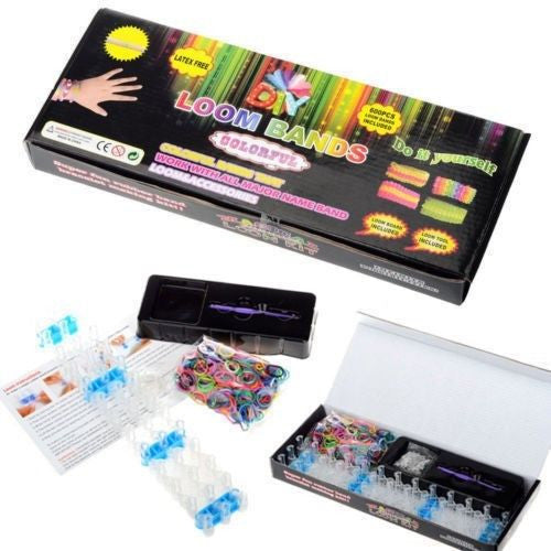 Colourful Loom Bands Bracelet Making Kit
