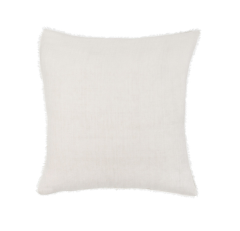 24x24 Linen Pillow, Natural
