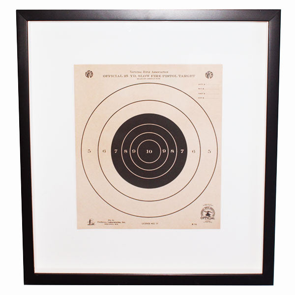 Custom framed vintage nra shooting target skout - Decor shooting photo ...