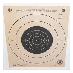 Custom Framed Vintage NRA Shooting Target