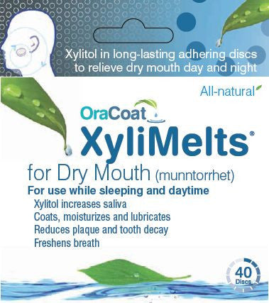 XyliMelts for Dry Mouth Regular or Mint-Free - Professional Case