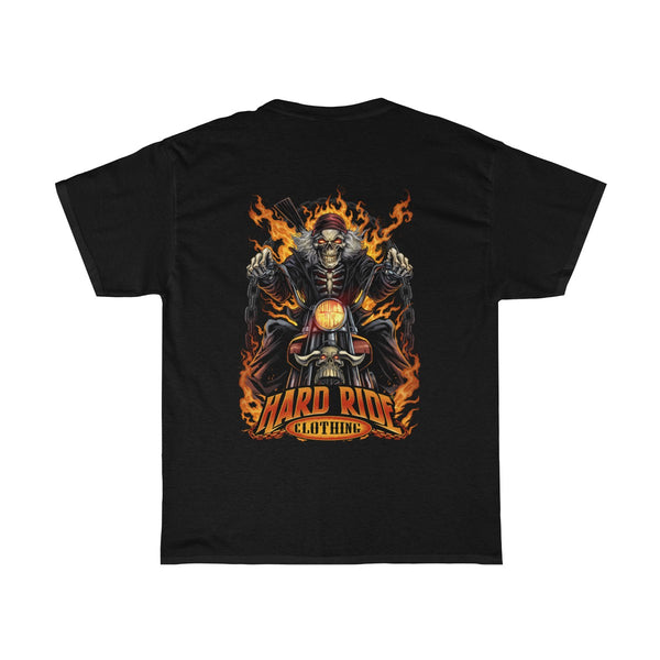 Hard Ride Clothing Skeleton Biker Men's T-shirt