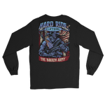 Hard Ride Clothing® Bakken Army ® Patriot Men's Long Sleeve T-shirt
