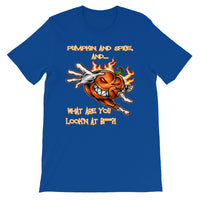 Pumpkin and Spice, and... What are Looking at Bit**? Women's Short-Sleeve T-Shirt