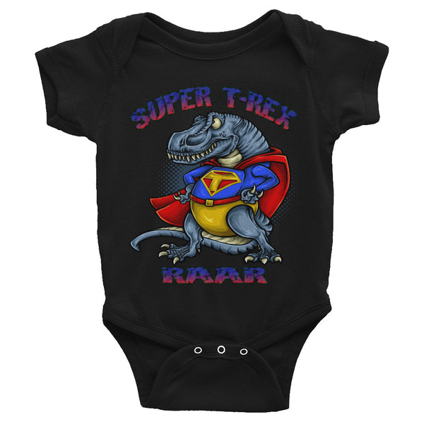 Super T-Rex Infant Onsie/ Infant Bodysuit
