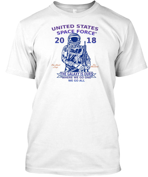 Space Force Short-Sleeve Unisex T-Shirt