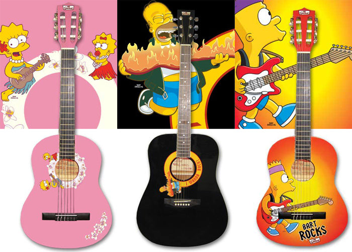 The Simpsons Guitars