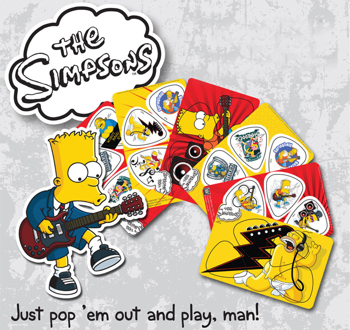 The Simpsons PikCards