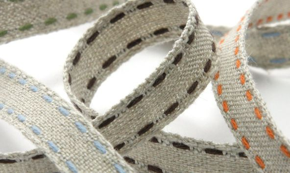 Double Stitched Linen Ribbon (SIC-226)