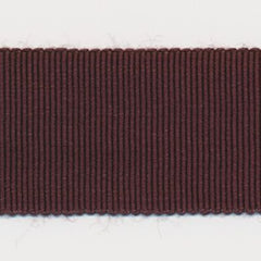 Rayon Grosgrain Ribbon  #19 Chocolate Brown