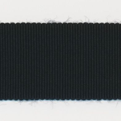 Rayon Grosgrain Ribbon  #30 Black