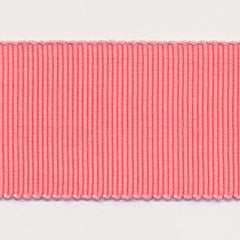 Rayon Grosgrain Ribbon  #333 Sugar Coral