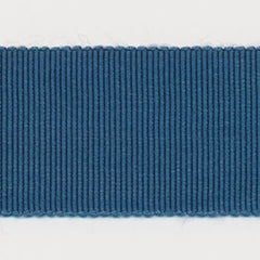 Rayon Grosgrain Ribbon  #60 Blue Coral