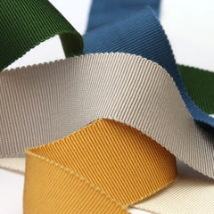 Rayon Grosgrain Ribbon  #357 Terra Cotta
