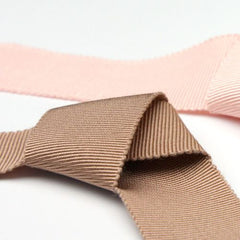 Rayon Grosgrain Ribbon  #44 Red Ochre