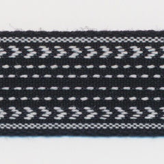 Classic Stitch Ribbon  #2 Black & White