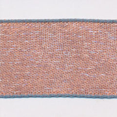 Chambray Organdy Ribbon  #5 Cork