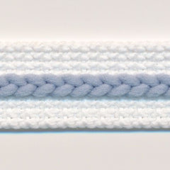 Chain Line Tape  #3 White & Dusk Blue