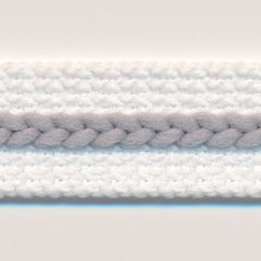 Chain Line Tape  #4 White & High-rise
